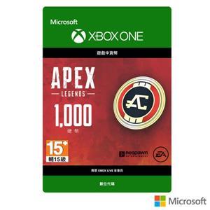 微軟 APEX 英雄 - 1000 Apex 幣(下載版)