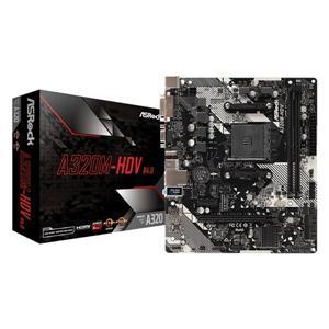 華擎 ASRock A320M HDV R4 . 0 AMD AM4 M - ATX 主機板