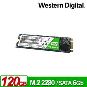 WD 綠標 120GB M . 2 2280 SATA SSD