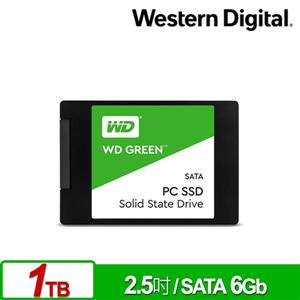 WD 綠標 1TB 2 . 5吋SATA SSD