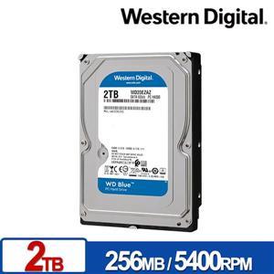 WD20EZAZ 藍標 2TB 3 . 5吋SATA硬碟