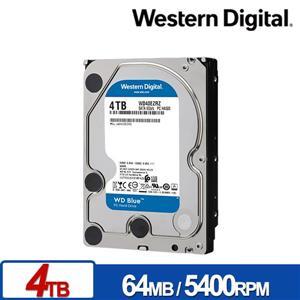 WD40EZRZ 藍標 4TB 3 . 5吋SATA硬碟/ 3y