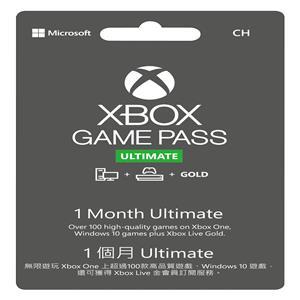 微軟 1個月Xbox Game Pass終極版(下載版)