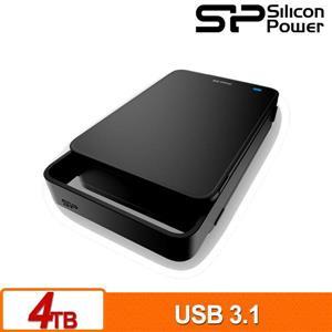 SP廣穎 Stream S06 4TB 3 . 5吋外接硬碟
