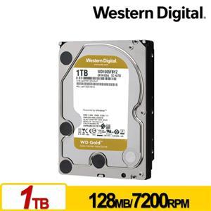 WD1005FBYZ 金標 1TB 3 . 5吋企業級硬碟