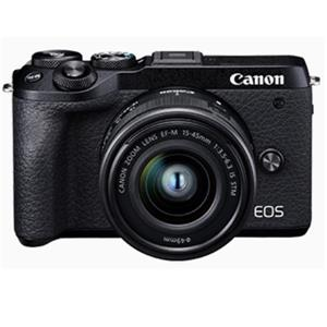 CANON EOS M6 MKII(黑)單鏡組15 - 45 IS STM單眼相機