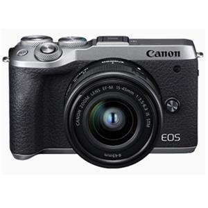 CANON EOS M6 MKII(銀)單鏡組15 - 45 IS STM單眼相機