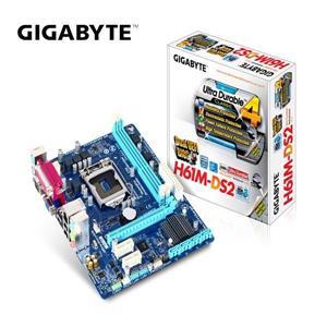 技嘉GIGABYTE GA - H61M - DS2INTEL主機板