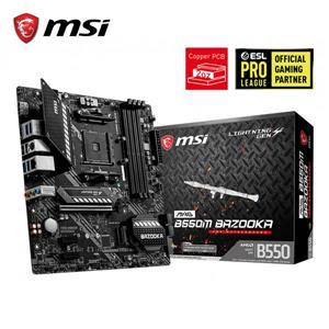 微星MSI MAG B550M BAZOOKA AMD主機板