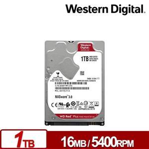 WD10JFCX 紅標Plus 1TB 2 . 5吋NAS硬碟