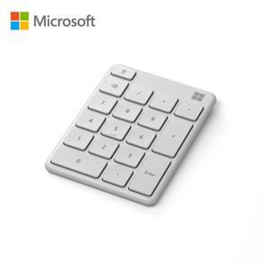 微軟 藍牙數字鍵盤 (月光灰)