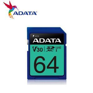 威剛 Premier Pro SDXC UHS - I U3( V30) 64G記憶卡