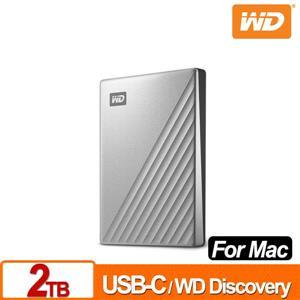 WD My Passport Ultra for Mac 2TB 2 . 5吋USB - C行動硬碟
