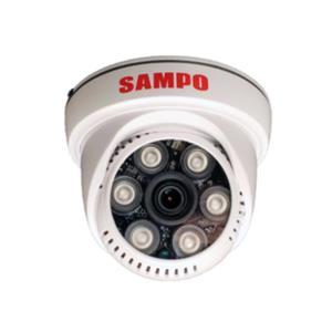 SAMPO VK - TW2C65H AHD 1080P 紅外線30米半球型攝影機(4mm)