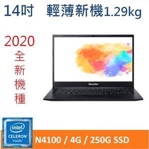 Genuine捷元14X 筆記型電腦 (N4100)
