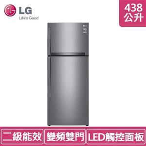 LG GI - HL450SV 438公升 (冷藏 321L :冷凍 117L) 直驅變頻冰箱