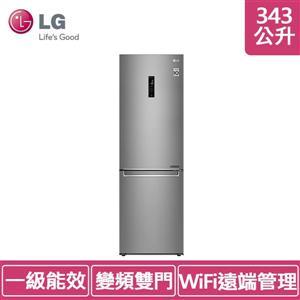 LG GW - BF389SA 343L(冷藏 234 :冷凍 109)直驅變頻上冷藏下冷凍