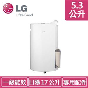 LG MD171QSK1 (水箱容量5 . 3公升) 白色 變頻除濕機