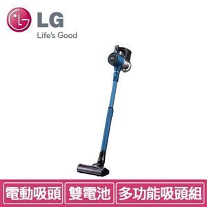 LG A9PBED (藍) 直立式手持無線吸塵器