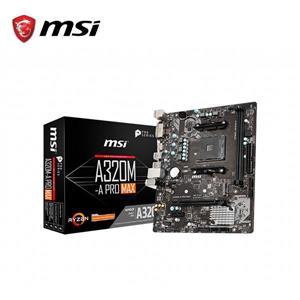 微星MSI A320M - A PRO MAX AMD主機板
