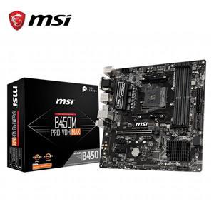 微星MSI B450M PRO - VDH MAX AMD主機板