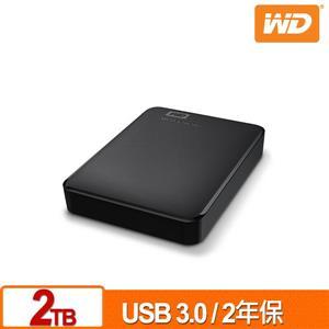 WD Elements 2TB 2 . 5吋行動硬碟(WESN)