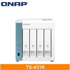 QNAP TS - 431K 網路儲存伺服器