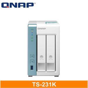 QNAP TS - 231K 網路儲存伺服器