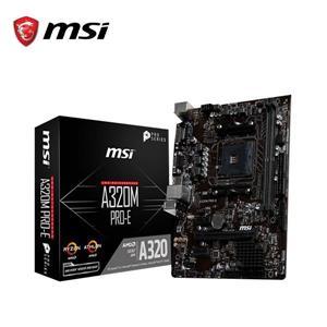 微星MSI A320M - A PRO AMD主機板