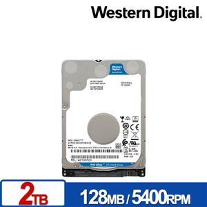 WD20SPZX 藍標 2TB(7mm) 2 . 5吋硬碟