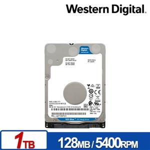 WD10SPZX 藍標 1TB(7mm) 2 . 5吋硬碟/ 3Y