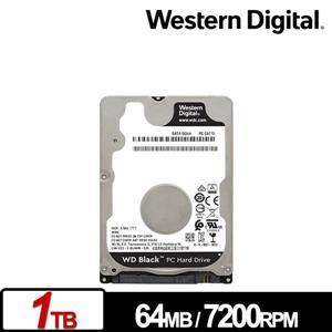 WD10SPSX 黑標 1TB(7mm) 2 . 5吋電競硬碟