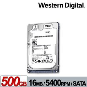 WD5000LUCT(AV - 25) 500GB(7mm) 2 . 5吋數位視訊硬碟