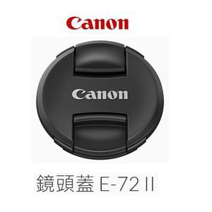 Canon Lens Cap E - 72II 鏡頭蓋