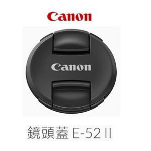 Canon Lens Cap E - 52II 鏡頭蓋