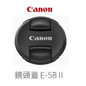 Canon Lens Cap E - 58II 鏡頭蓋