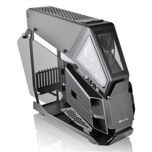 曜越 AH T600 霧黑版 高直立開放式 強化玻璃機殼