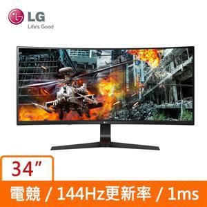 LG 34型 34GL750 - B (曲面)(21 : 9寬)螢幕顯示器