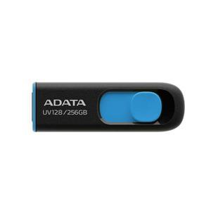 威剛 UV128 256G USB3 . 2行動碟 (藍)