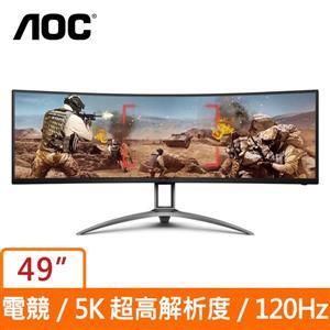 AOC 49型 AG493UCX (曲面)(寬)螢幕顯示器