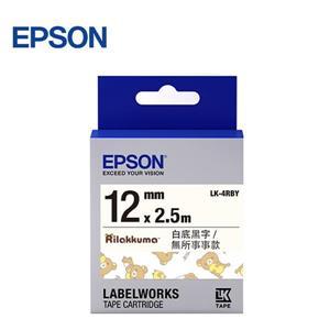 EPSON LK - 4RBY C53S654481 無所事事款標籤帶