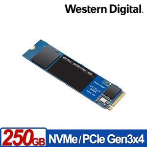 WD 藍標 SN550 250GB M . 2 2280 PCIe SSD