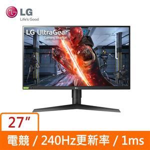 LG 27型 27GN750 - B 電競 (寬)螢幕顯示器