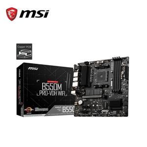 微星MSI B550M PRO - VDH WIFI AMD主機板