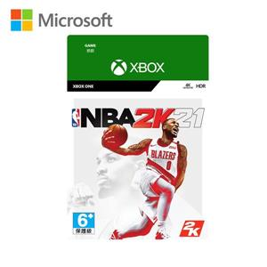 微軟 《NBA 2K21》 - 中文版(下載版)