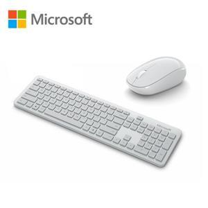 微軟 精巧藍牙®鍵鼠組(月光灰)