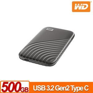 WD My Passport SSD 500GB(灰) 外接式SSD(2020)