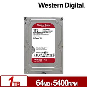 WD10EFRX 紅標Plus 1TB 3 . 5吋NAS硬碟