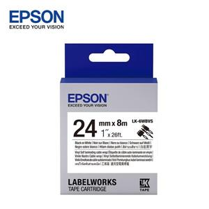 EPSON LK - 6WBVS C53S656419 標籤帶(線材24mm )黑字