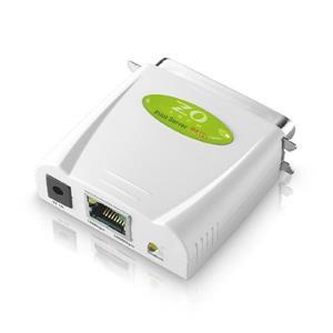 ZO TECH PA101 平行埠印表伺服器(綠色)
